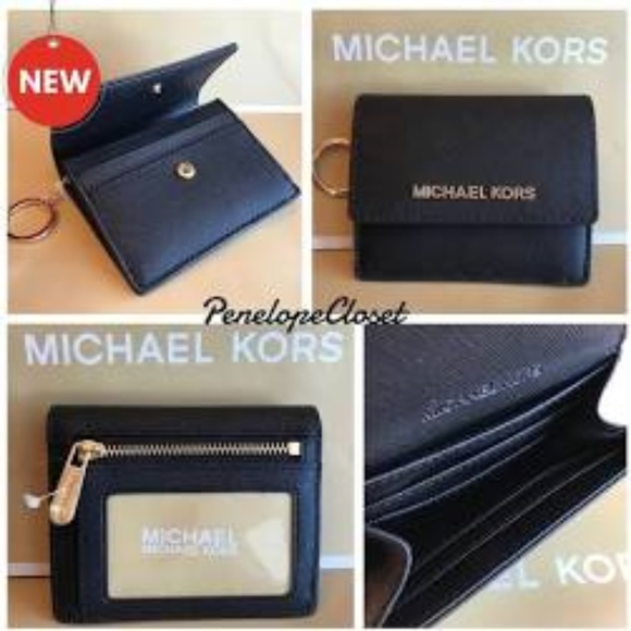 8b12956381ca Michael Kors Bags | Nwt Card Case Id Key Holder Wallet | Poshmark